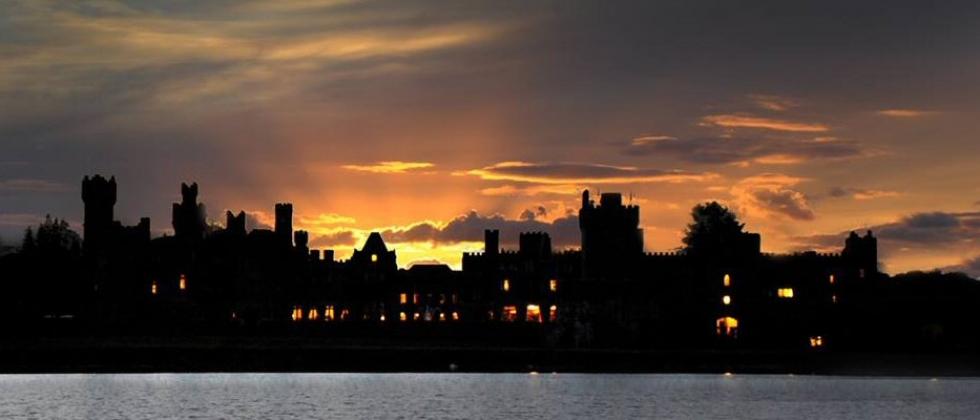 Ashford Castle at sunset (Photo: Ceri Jones)